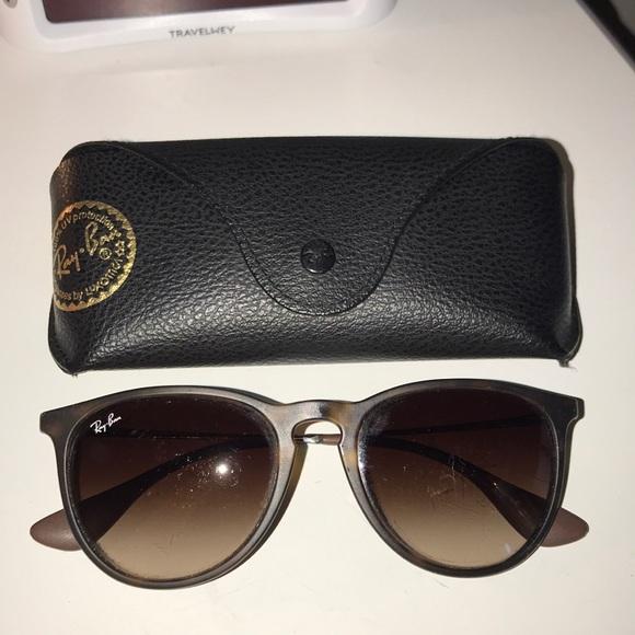 e1aa064297c Ray-Ban Erika RB 4171 Tortoise Gunmetal Sunglasses.  M 5aa296f43b16080e75d8fccd